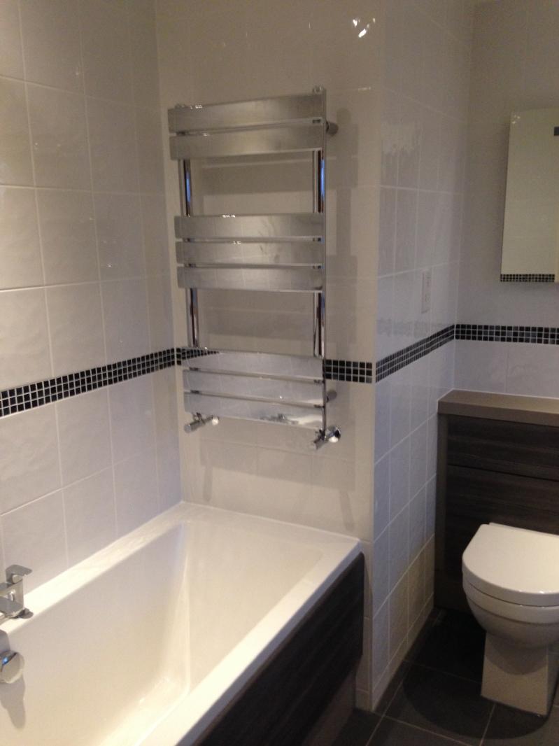 New bathroom installation 3