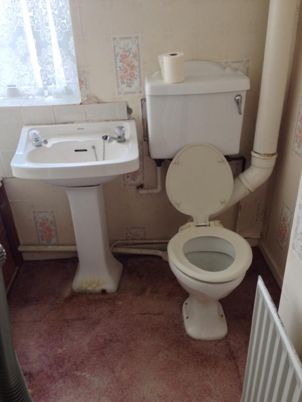 Toilet change 1