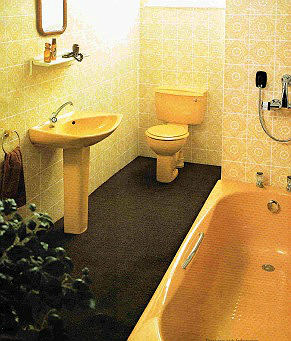 New Bathrooms from the 1970's