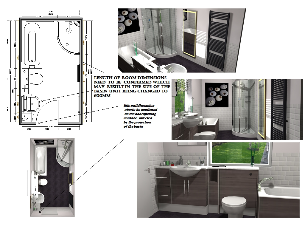 Bathroom design service using CAD | New bathroom service | Graham ...